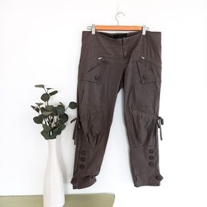 Sally Phillips Pants Size 10 Khaki Cargo